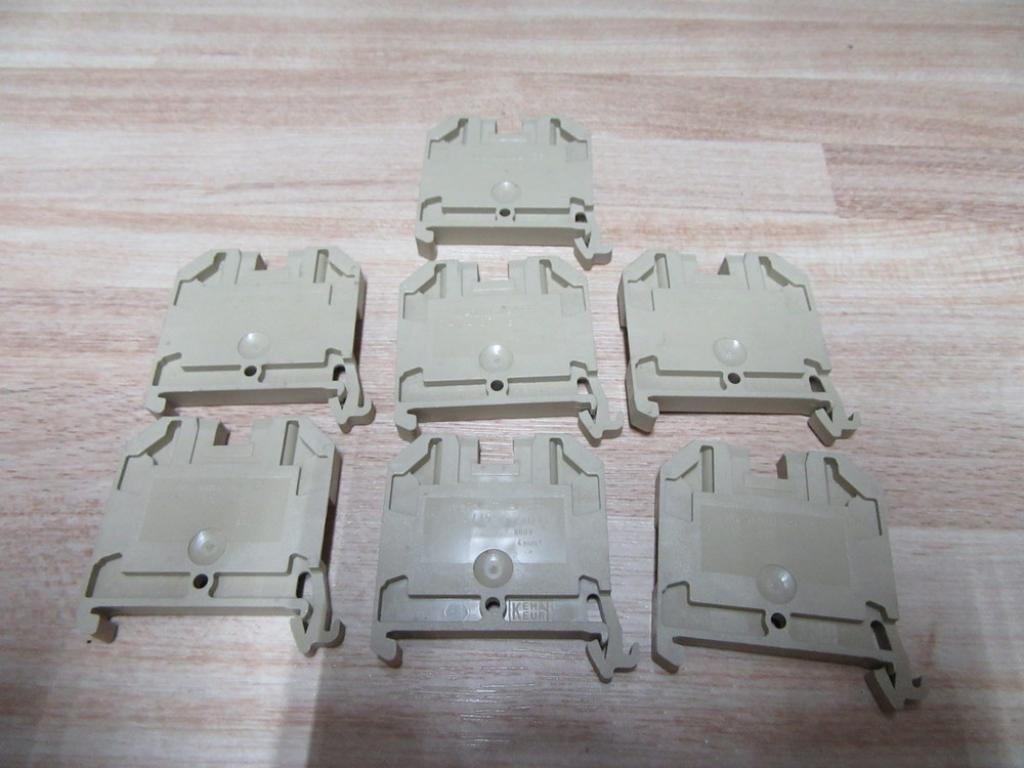 Weidmuller SAK 4/35 Blocks SAK435 0443660000 (Pack of 7)
