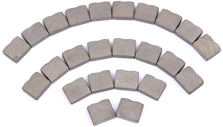 Diamond Saw Blade Segments for Abrasive Grinding Granite Marble Cutting Teeths Diamond Saw Blade Segments(24-PCS)