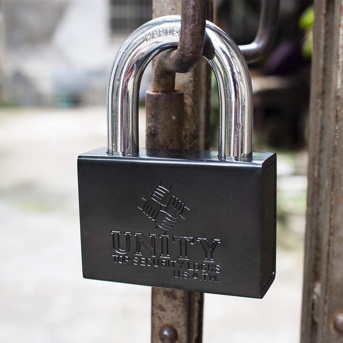 Heavy Duty Solid Steel Keyed Padlock Top Security Lock(63mm)