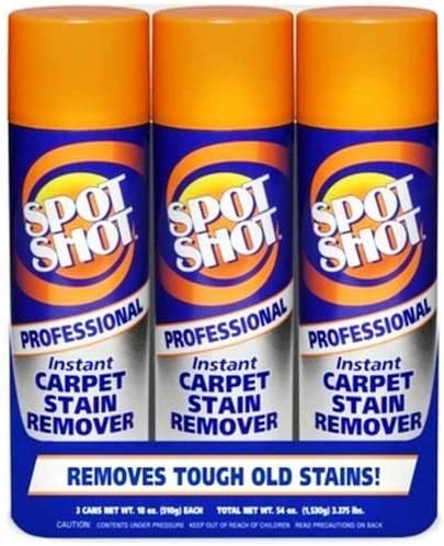 Spot Shot Professional Carpet Stain Remover (4-Pack/ 12 Total)