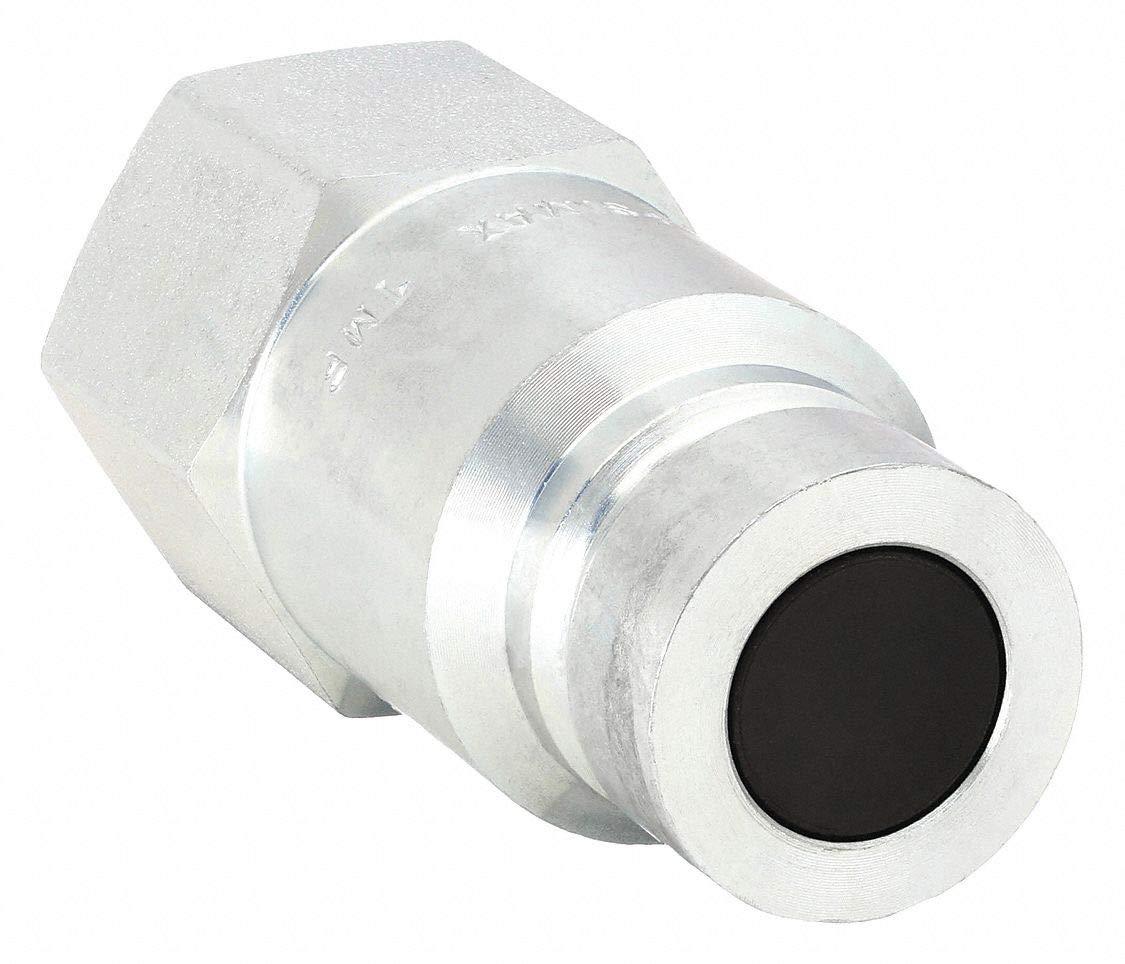 Coupler Nipple, 1/2-14, 3/4 In. Body, Steel