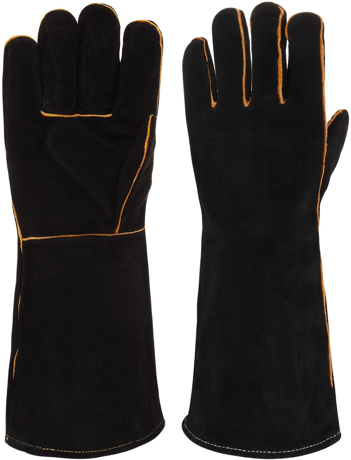 RXG Welding Gloves Barbecue Gloves Heat Resistant Cut Resistant Unisex (16 inch)