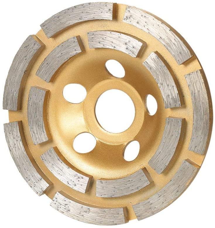 Diamond Blades Segment Grinding Wheel Disc Bowl Shape Grinder Cup 22mm Inner Hole 100mm 4 (Color : Type 1)