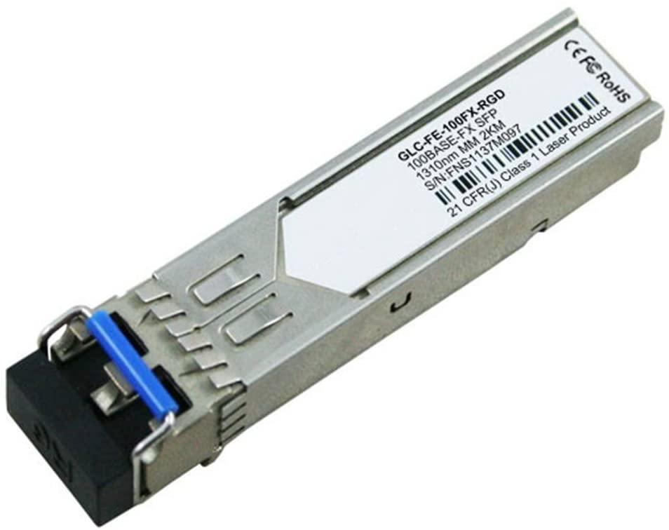 LODFIBER GLC-FE-100FX-RGD Cisco Compatible 100BASE-FX SFP 1310nm 2km DOM Transceiver