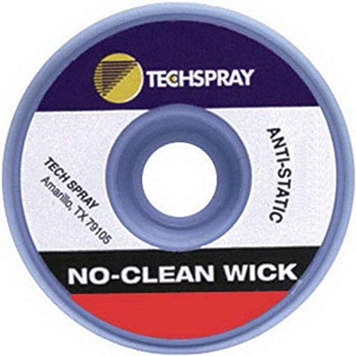 Techspray 1821-50F No-Clean Desoldering Braid .055 x 50'