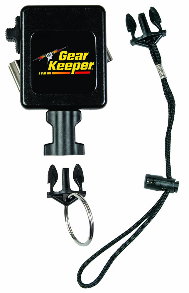 Gear Keeper RT3-7524 Retractable Instrument Tether with Stainless Steel Rotating Belt Clip, 80 lbs Breaking Strength, 24 oz Force, 32