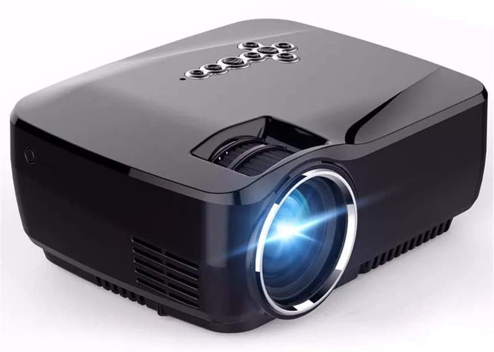 PUEEPDEE Projector Mini LED Projector with Google Play Projector 1G/8G Bluetooth WiFi TV Beamer Projector Screen (Color : Photo Color, Size : One Size)