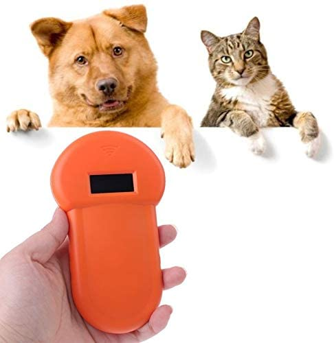 XIWAN Pet ID Reader Animal Chip Digital Scanner USB Rechargeable Microchip Handheld Identification General Application