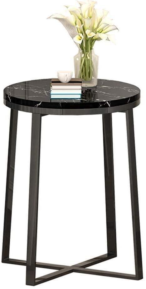 LXU Table,Living Room Telephone Table, Marble Pattern Metal Bracket Multi-Function Table Hotel Meeting Room Reception Room Reception Desk Save Space,#2