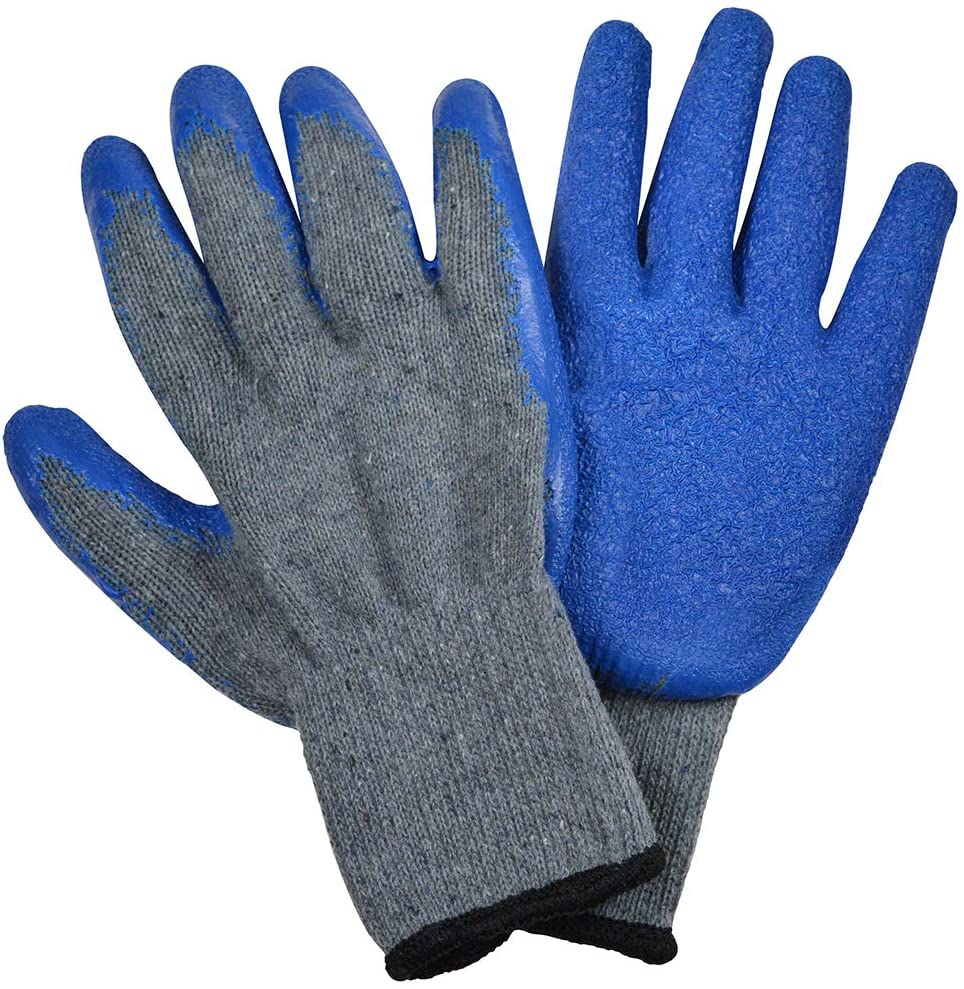 Cosco Knit Work Gloves, One Size, Gray