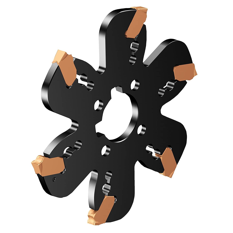 Sandvik Coromant QD-K-315X40-M Coromill QD Indexable Grooving and Parting Off Cutter, 5.65 mm Maximum Overhang, 6 mm Cutting Width, 315 mm Cutting Diameter