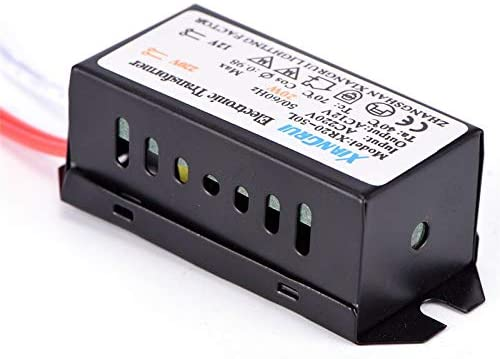 Davitu Cables, Adapters & Sockets - 20W AC 220V To 12V LED Power Supply Driver Electronic Transformer