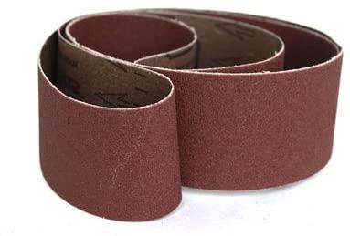 Sanding Belts 2 X 72 Aluminum Oxide Cloth Sander Belts, 6 Pack (24 Grit)