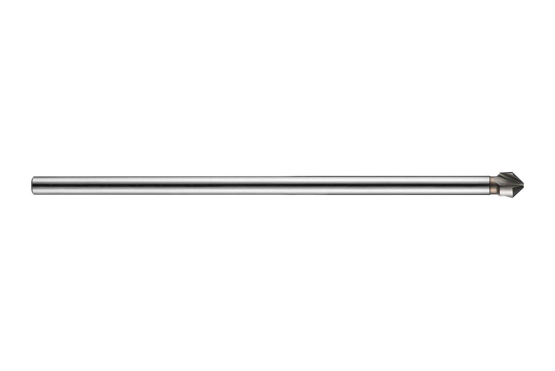 Dormer G6006.3 Countersink, Straight Shank, AlTiCN Coating, High Speed Steel, Full Length 154 mm, Flute Length 6.4 mm, Shank Diameter 5 mm