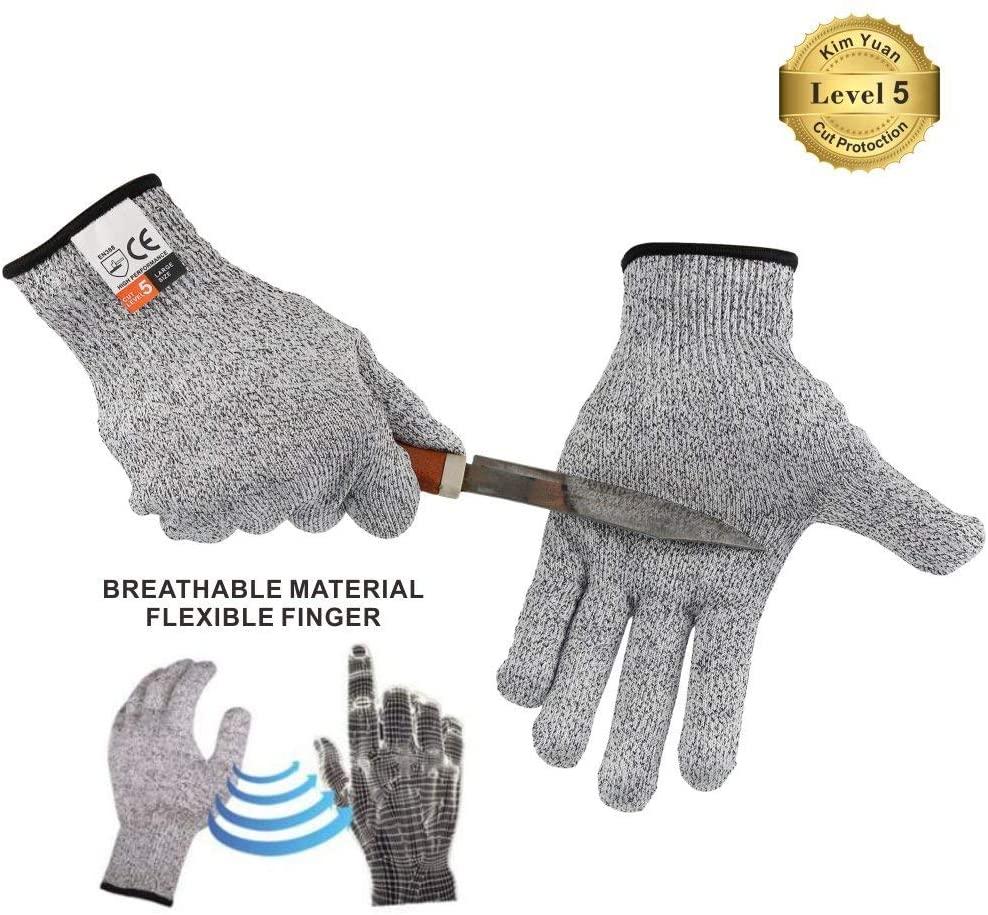 KIM YUAN Cut Resistant Gloves Touch Screen Glove Arthritis Gloves