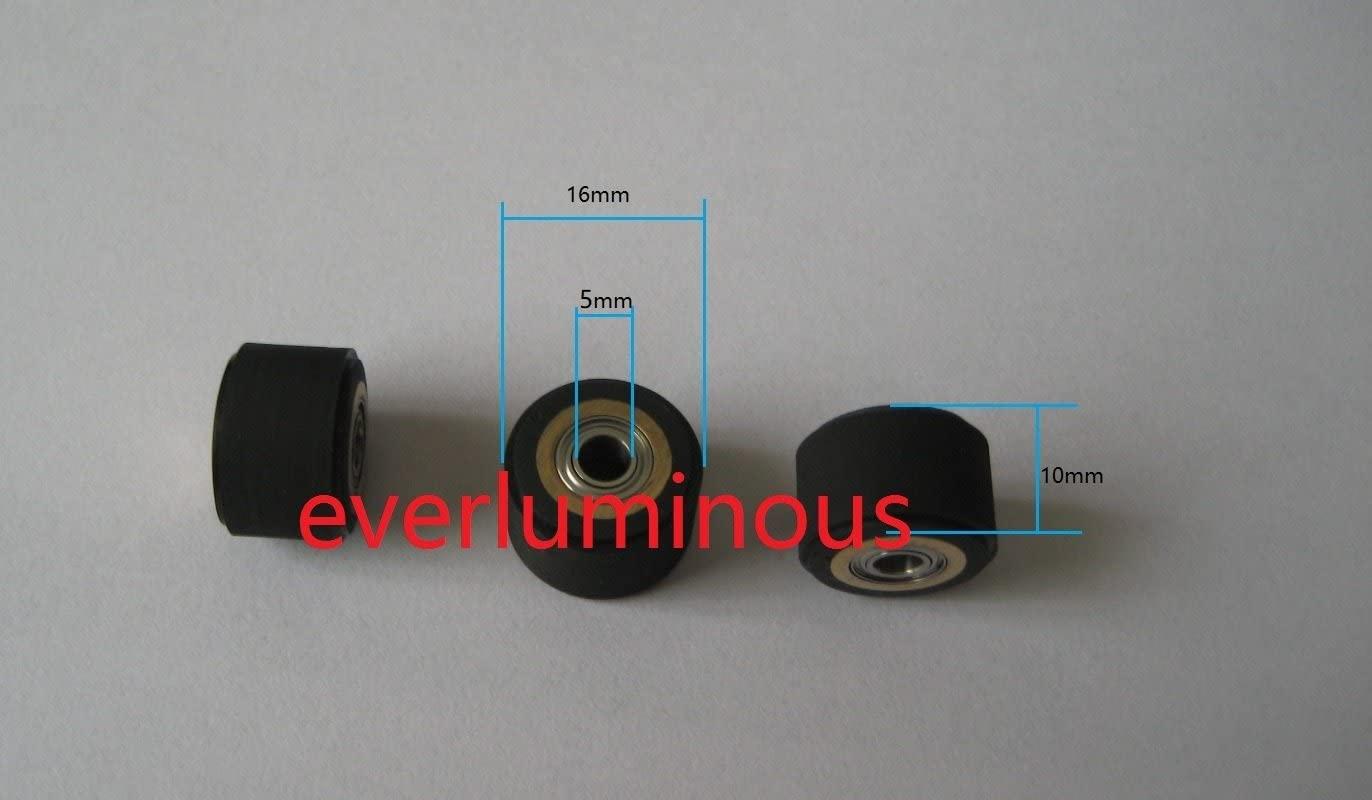 12pcs 5x10x16mm ioline Cutting Plotter Vinyl Cutter Pinch Roller Wheel Japan Bearing+Copper+Rubber …