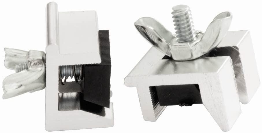 Window Slide Stop - 2 Pack in Aluminum (Set of 10)