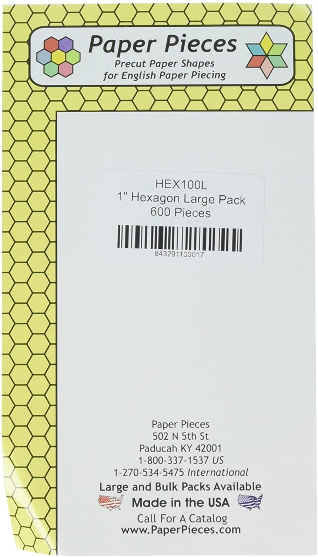 Paper Pieces 1 600 Piece Hexagons