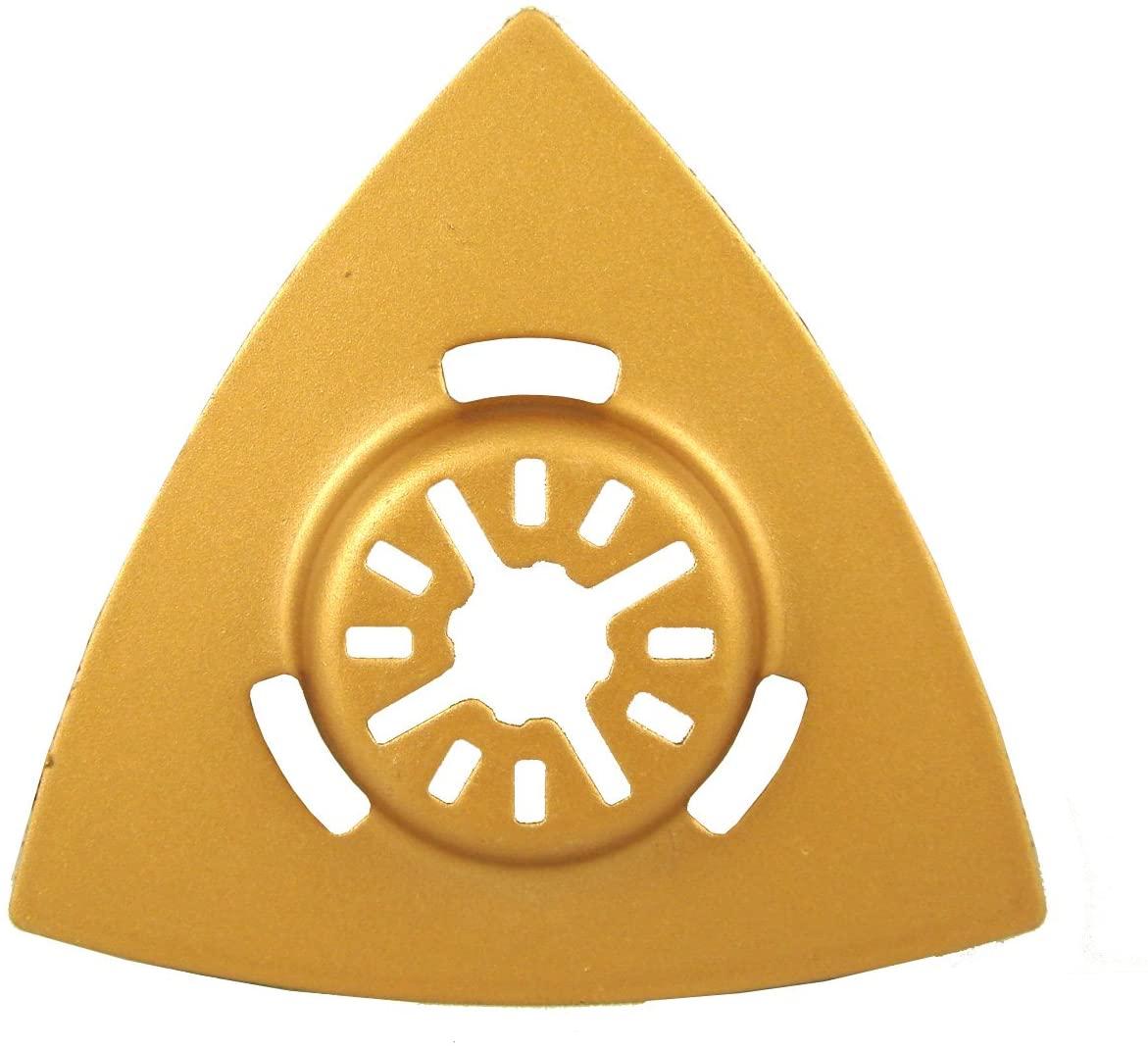 3 1/8 Triangular Carbide Rasp with Universal Arbor for Fein, Dremel, Bosch, Porter Cable, Ridgid, Ryobi, Milwaukee, Dewalt, Skil and More