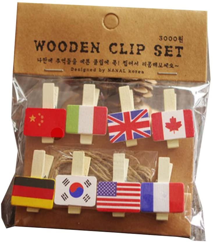 6 Package Beautiful Binder Clips Paper Clips File Clip Photo Clip