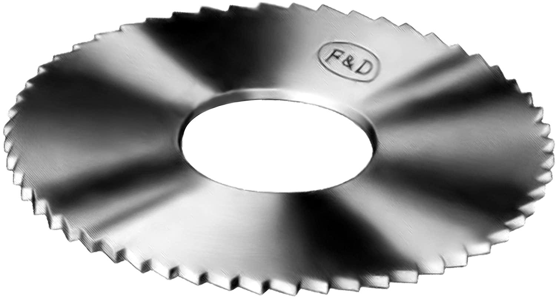 F&D Tool Company ACS2204 Solid Carbide Slitting Saws, 5/16