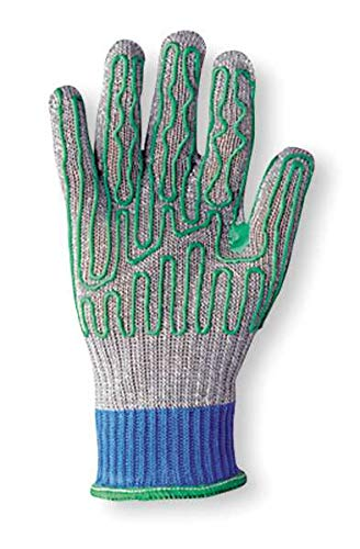 Whizard 134663 Silver Talon 1346 Spectra Knit Glove with Polyurethane Pattern Palm - Cut Level 5, Size Large, Right Hand Only (1 Glove)