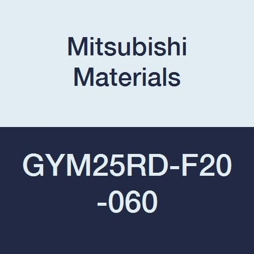 Mitsubishi Materials GYM25RD-F20-060 Face Grooving Holder, Modular Blade, M25 Size, Right Hand, 0.118/0.125/0.128 Seat, 0.787 Grooving Depth, 2.362 Grooving Diameter