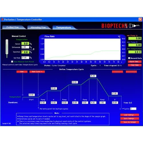 Bioptechs 13161603-13 Perfusion/Temperature USB Controller