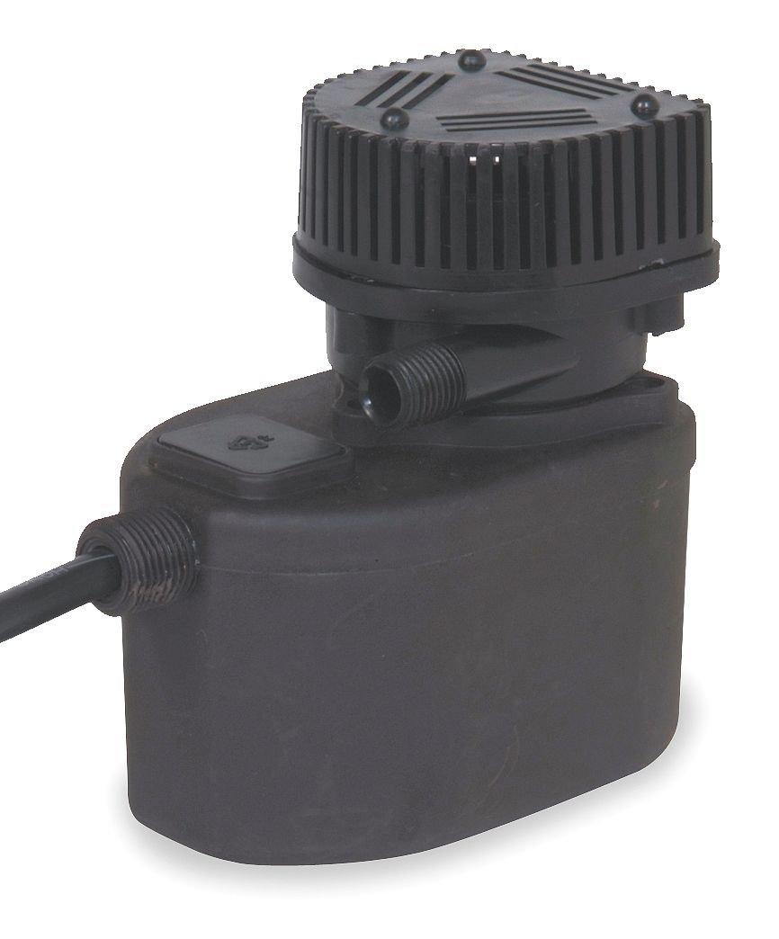 Dayton 2HNN4 Pump, Compact Submersible, 1/50 HP
