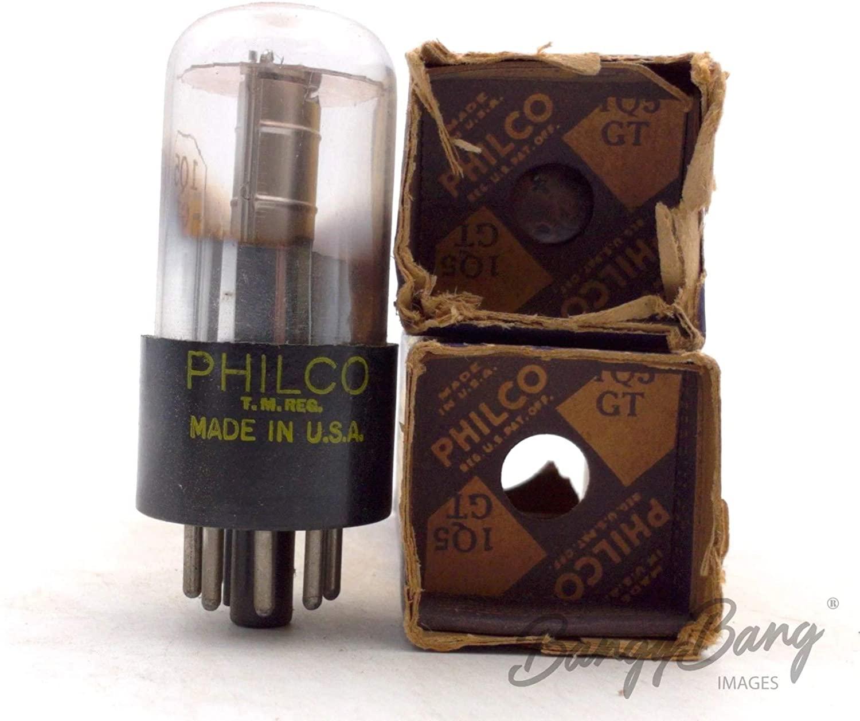 2 Vintage Philco 1Q5GT/1Q5 Output Radio Tube Valve- BangyBang Tubes