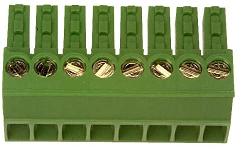 284506-8 - Pluggable Terminal Block, Terminal Block, Eurostyle, Cable Mount, 3.5 mm, 8, 30 AWG RoHS Compliant: Yes, (Pack of 5)
