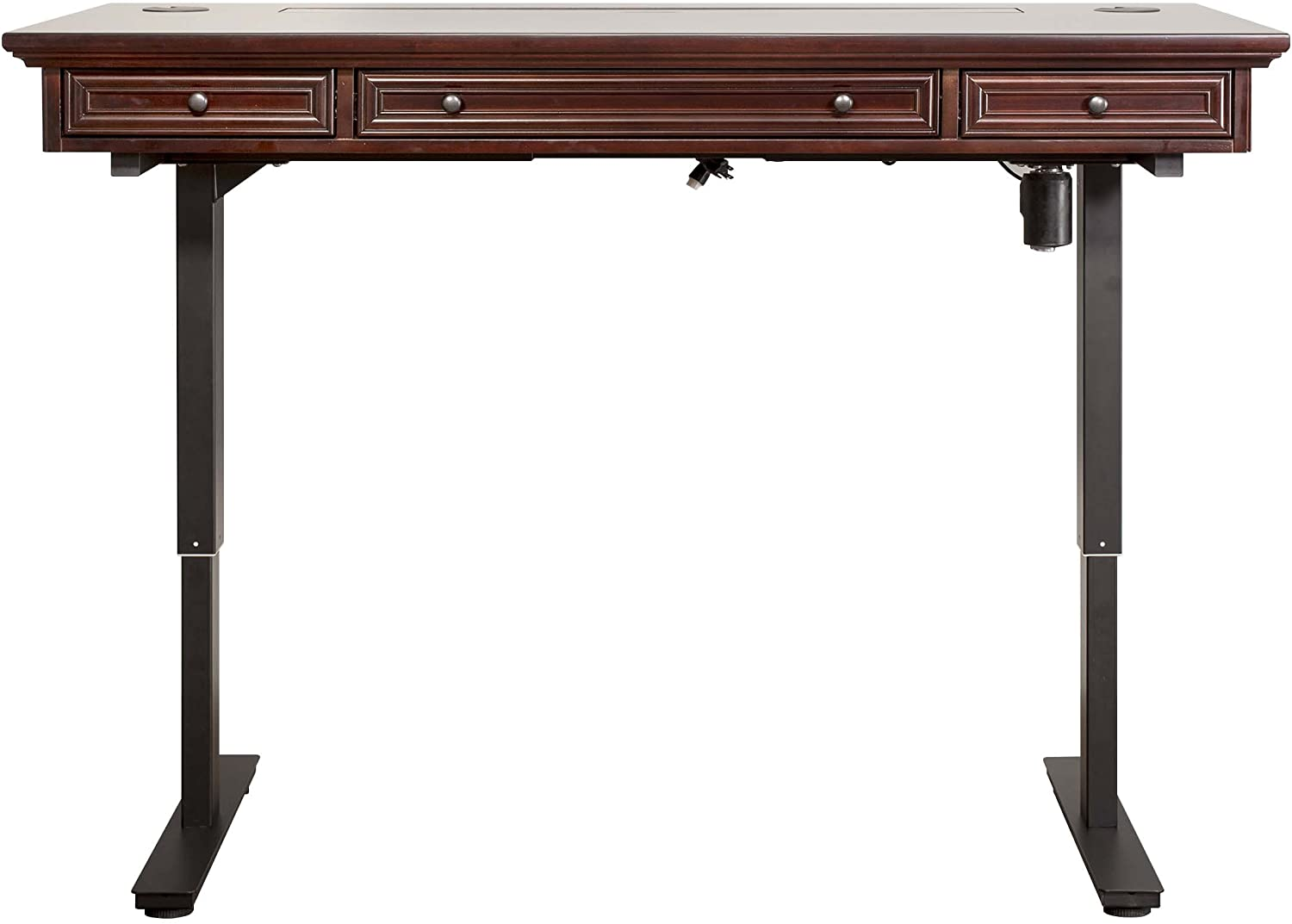 Martin Furniture Mount View Electric Sit/Stand, Brown