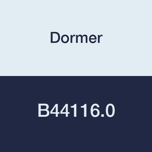 Dormer B44116.0 Machine Reamer, Straight Shank, Bright Coating, Solid Carbide, Head Diameter 16 mm, Flute Length 22 mm, Full Length 170 mm