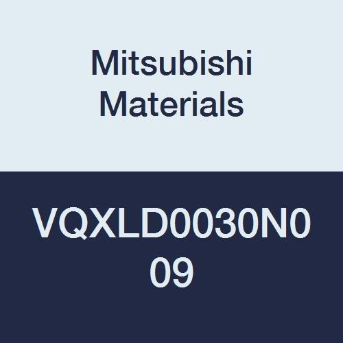 Mitsubishi Materials VQXLD0030N009 Series VQXL Carbide Smart Miracle End Mill, Long Neck Flute, Square Shape, 3 Flutes, 0.3 mm Cutting Dia, 0.5 mm LOC, 0.9 mm Neck Length