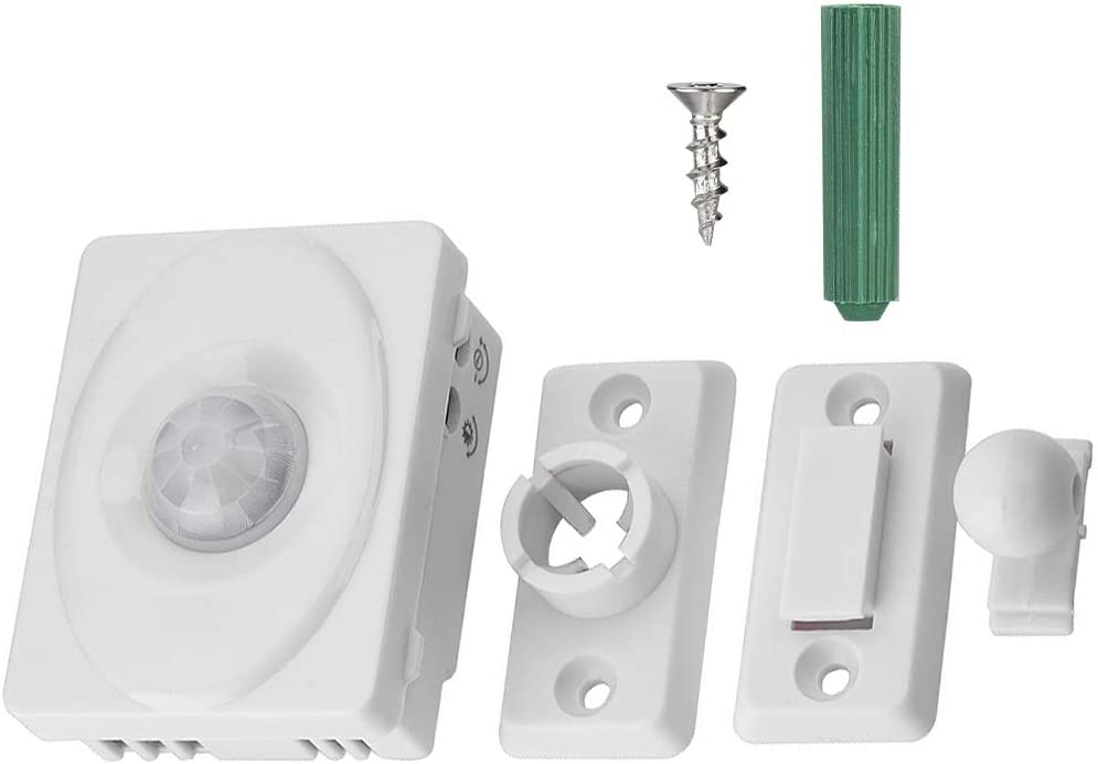 Sensor Light Switch, Motion Sensor Light Switch, LED Wall Automatic Adjustable for Light Control & Delay Adjustment Motion-Activated Lighting
