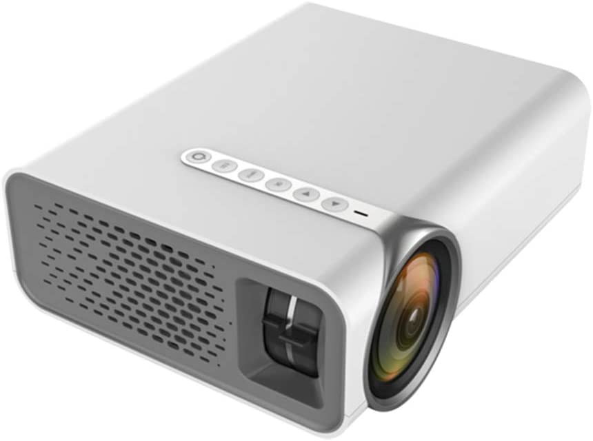 YYQX-4X Projector Home Cinema Portable Mini HD 1080P Vertical Correction Projector with Audio Max 180