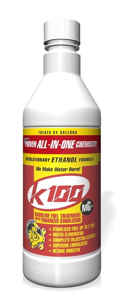 K100 MG Gasoline Treatment with Stabilizer - 12/32 oz. case