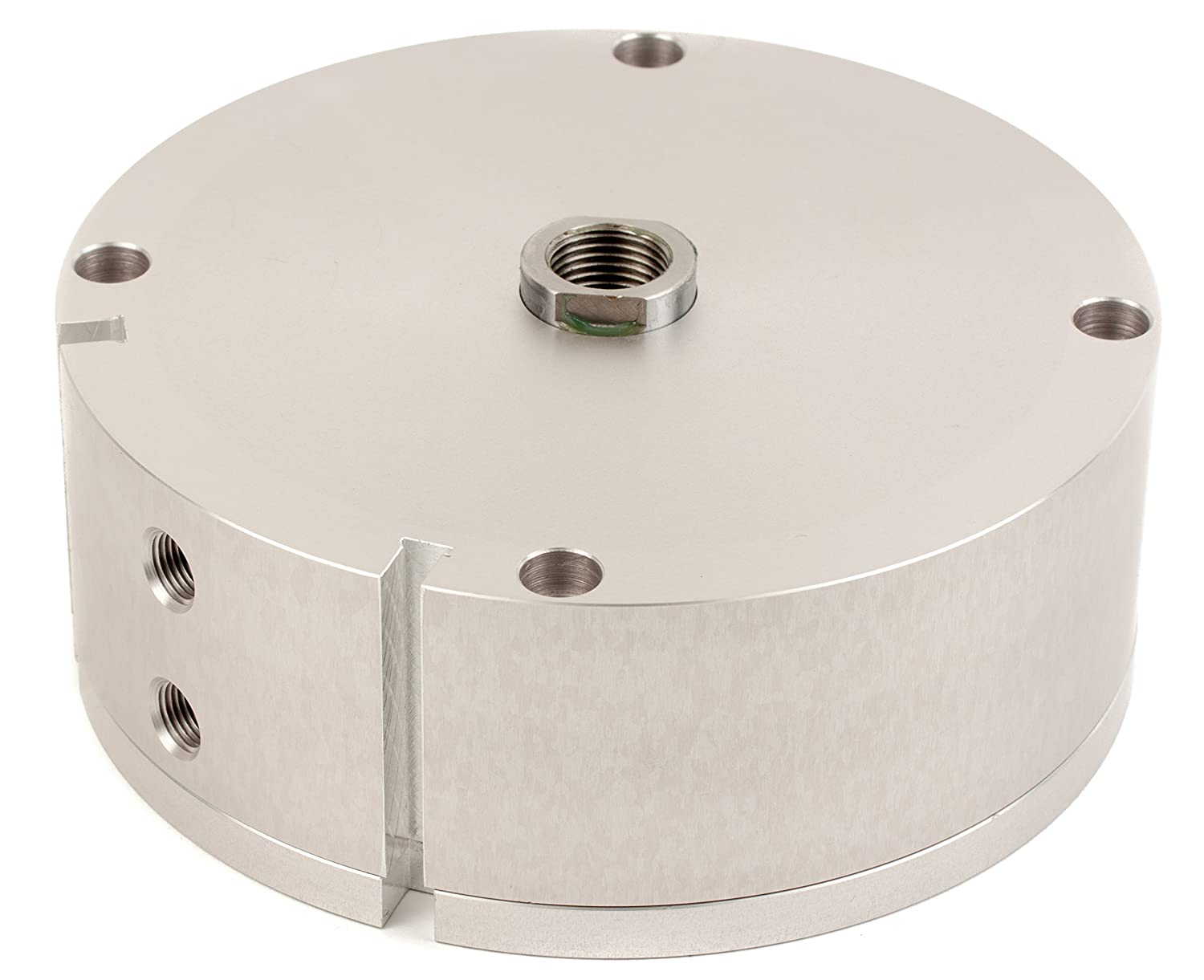 Fabco-Air AA-1221-X-E Original Pancake Cylinder, Double Acting, Maximum Pressure of 250 PSI, Switch Ready with Magnet, 4
