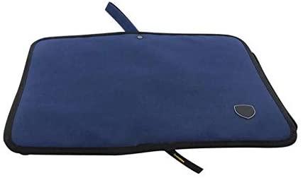 Utoolmart 1pcs Multi-Purpose Tool Bag Small/Medium/Big Dark Blue Oxford Cloth Tool Pouch Organizer Storage Bag (Color : Medium)