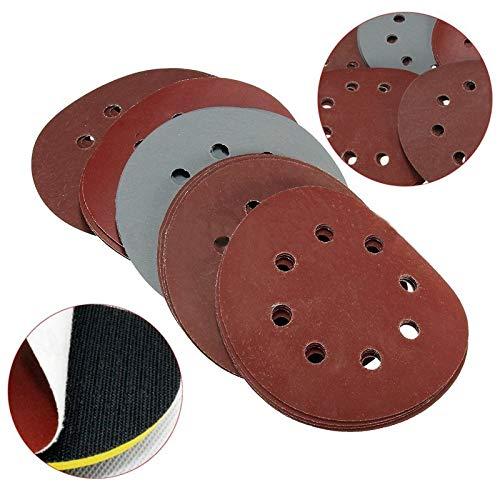 JPONLINE 25x 539;39; Grit 800 1000 1500 2000 3000 Sandpaper Sanding Discs Sandpaper Hook Loop