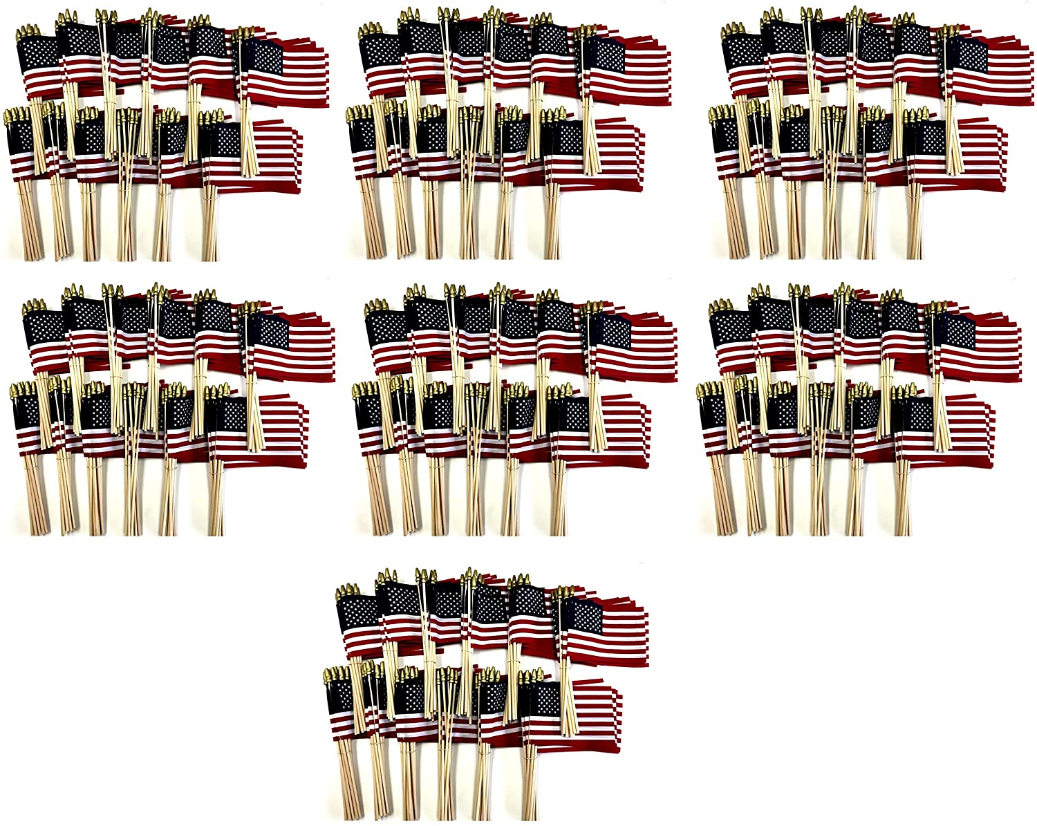 Made in The USA!! Wholesale Case of 1000 Cotton 4
