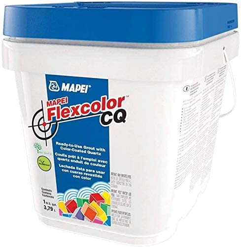 MAPEI FLEXCOLOR CQ 2 GAL Ready to USE Grout with Color-Coated Quartz (Alabaster (2 GAL))