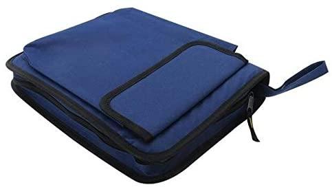 Utoolmart 1pcs Multi-Purpose Tool Bag Small/Medium/Big Dark Blue Oxford Cloth Tool Pouch Organizer Storage Bag (Color : Big Upgrade)