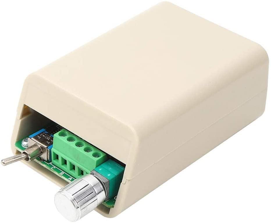 Motor Controller Speed Governor Sensorless Brushless Motor Speed Controller Without Hall Speed Controller Variable Adjuster DC 6V12V24V36