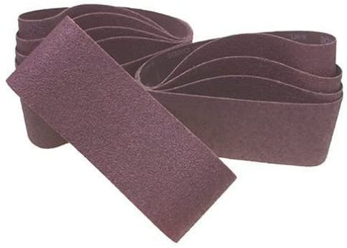 2-1/2 Wide x 14 Long, 120 Grit, Aluminum Oxide Abrasive Belt