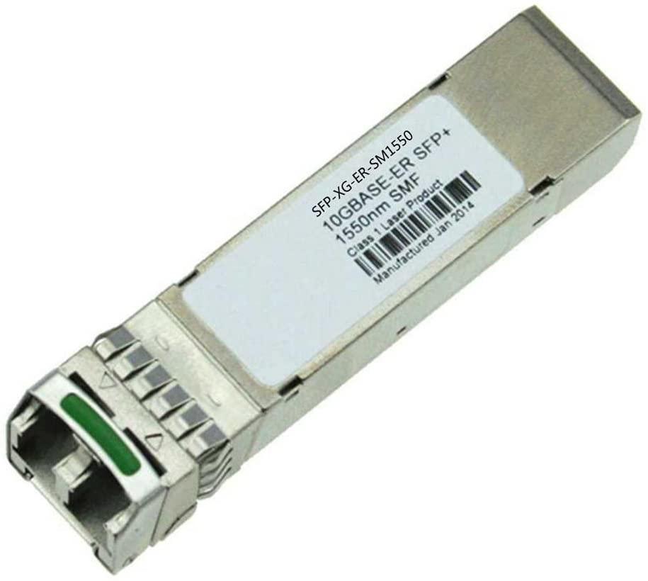 LODFIBER SFP-XG-ER-SM1550 H3C Compatible 10GBASE-ER SFP+ 1550nm 40km DOM Transceiver