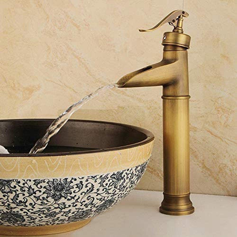 HYF Faucet Modern Style Basin Faucet Cold and Hot Water Mixer Single Handle Black White Basin Faucets@Y10024_China Gold/Silver/Black/Ceramic/Chrome