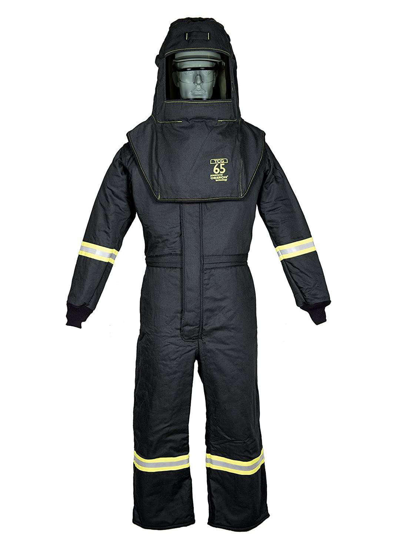 TCG65 Series Arc Flash Hood & Coverall Suit Set