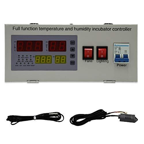 XM-18EW Automatic Egg Incubator Controller Digital LED Temperature Controller Temperature Humidity Sensors Egg Hatcher Controlle
