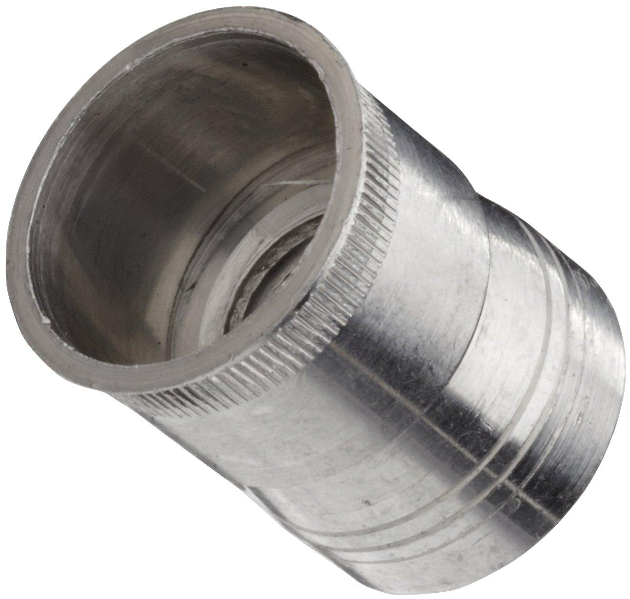 Aluminum Threaded Insert, #10-24 Threads, 0.375
